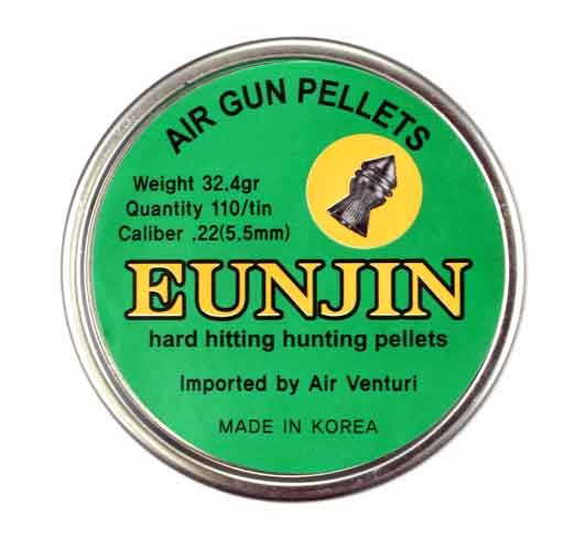Eun Jin .22 Cal, 32.4 Grains, Pointed, 110ct
