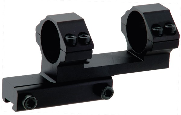 "Airgun/.22 Bi-directional Offset 1"" Ring Mount"